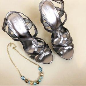 Calvin Klien Night out Sandal (Pallas) Size 9